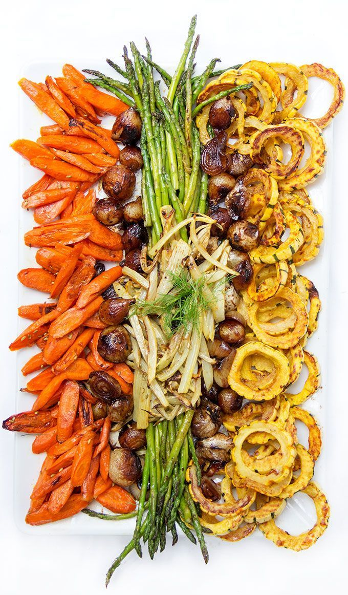 Fabulous Autumn Winter Roast Vegetable Dish • a festive aperitif or ……   – Yes
