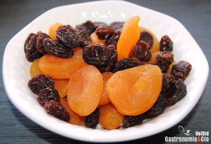 Cómo hidratar las frutas secas rápidamente (pineado por @OrgulloWine)