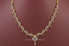 Affordable Indian Diamond Necklace Designs | Latest Indian Jewellery Designs