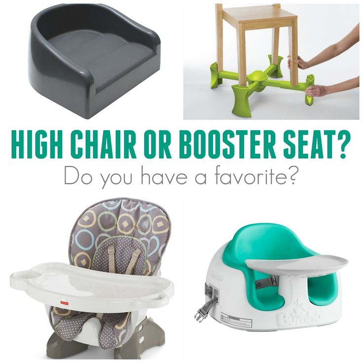 Booster High Chair Seat For Toddlers