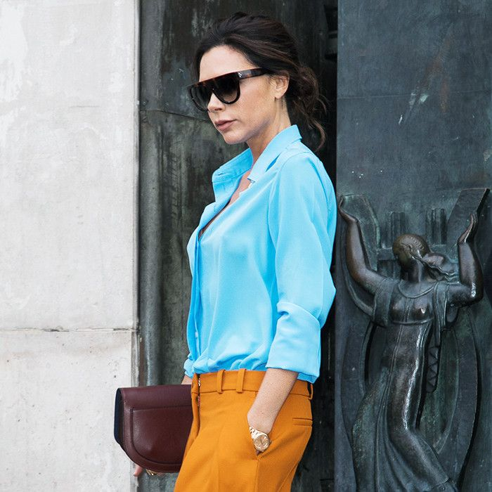 Victoria Beckham's Latest Sneakers Are Nothing Like Her Usual Footwear via @WhoWhatWearUK
