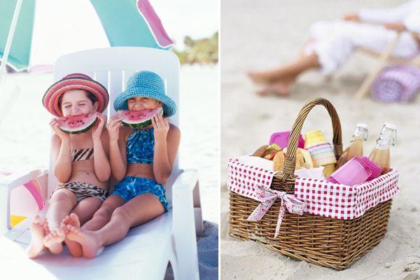 Καλοκαιρινό πικνικ στην παραλία
