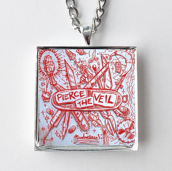 Pierce the Veil - Pierce the Veil - Album Cover Art Pendant Necklace