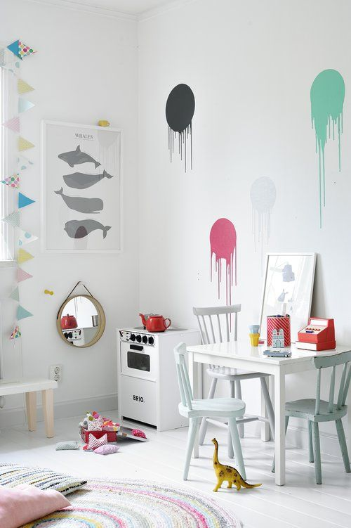 Treating a child's room like a canvas.