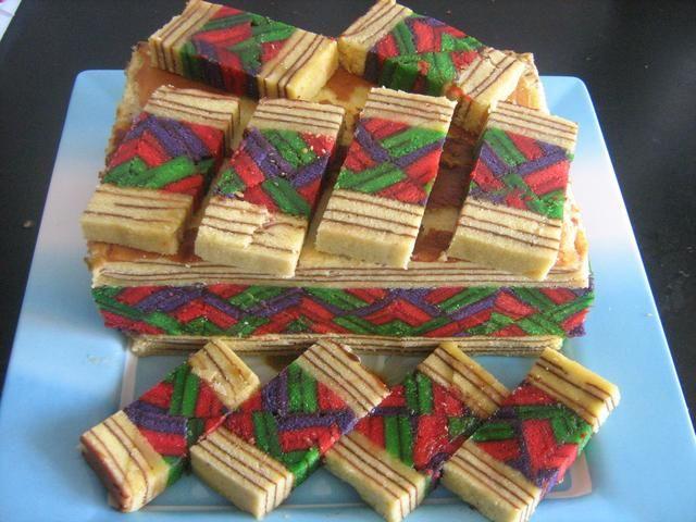 Sarawak Layer Cakes And Indonesian Lapis Legit