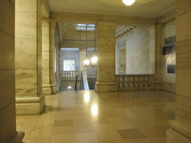 I love marble and the Stephen A. Schwarzman Building has a lot of it! It's an incredible building. Definitely a must see while in Midtown. http://ourtravelingblog.com/2015/11/18/stephen-a-schwarzman-new-york-public-library/
