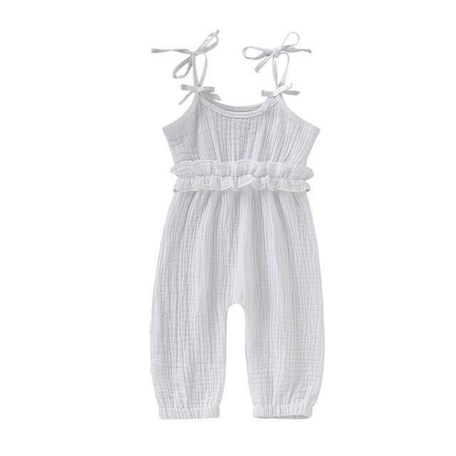 Toddler Kids Baby Boys Overall Harem Straps Bodysuit Jumpsuit Romper Playsuit