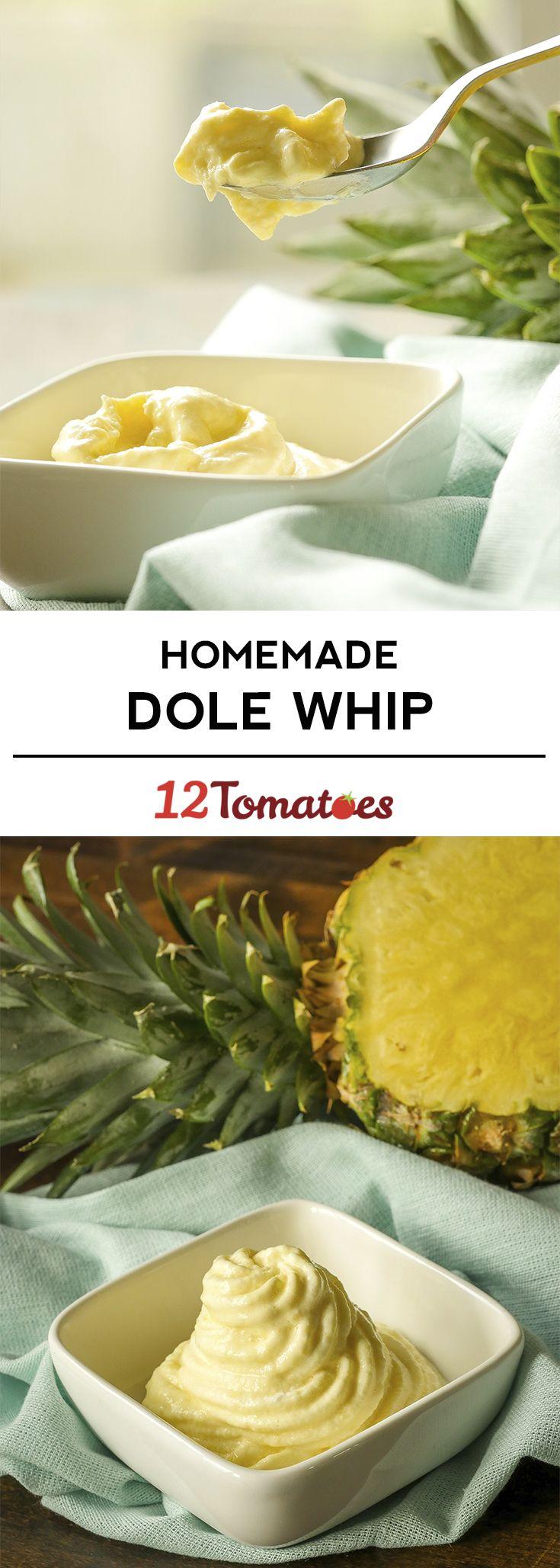 Homemade Dole Whip