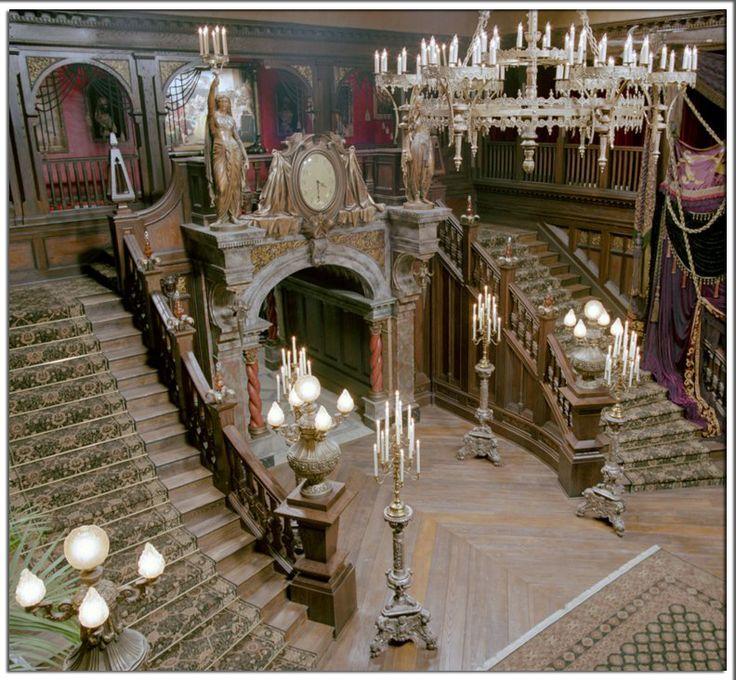 'Haunted Mansion' Movie Set.