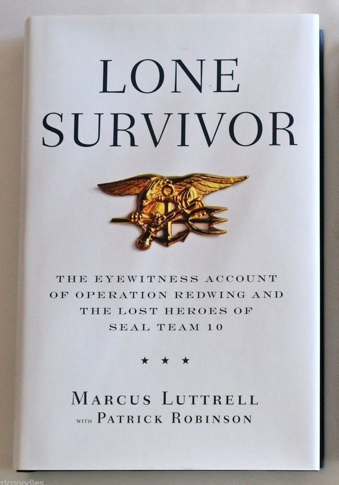19 best chris kylemarcus luttrell images on pinterest chris kyle new marcus luttrell signed lone survivor hardcover autographed email signedbooksgaloregmail to fandeluxe Image collections