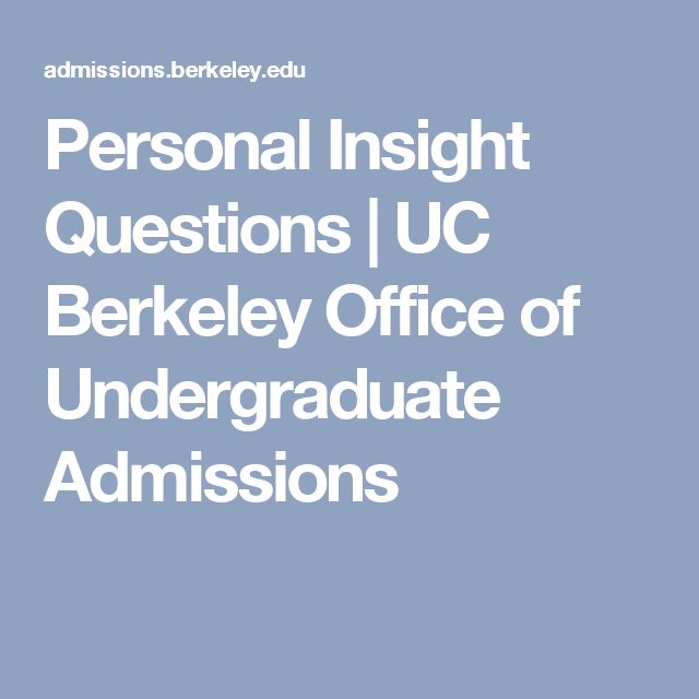 personal statement graduate school uc berkeley