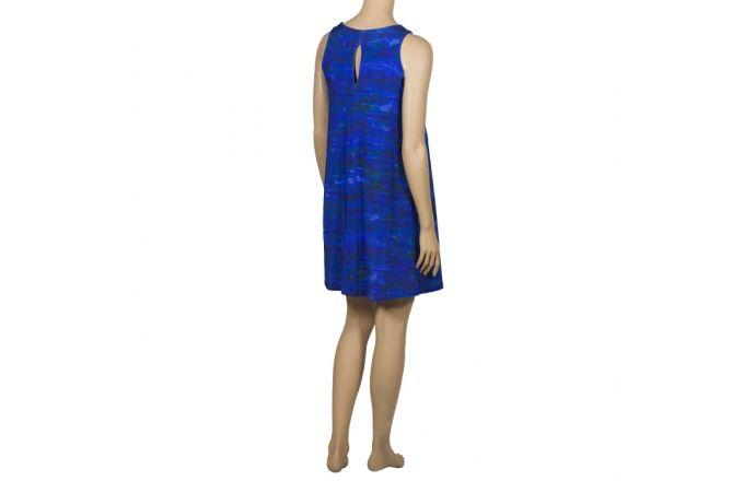 Vestido estampado azul mar #instintoBcn #Verano #ModaMujer