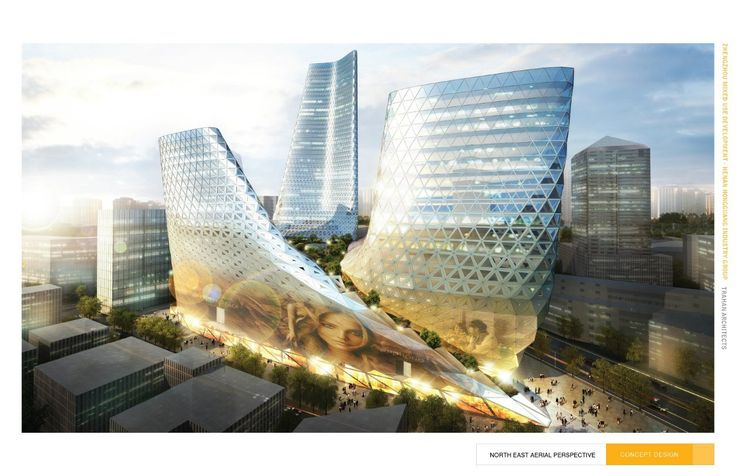 Gallery of Zhengzhou Mixed Use Development / Trahan Architects - 23