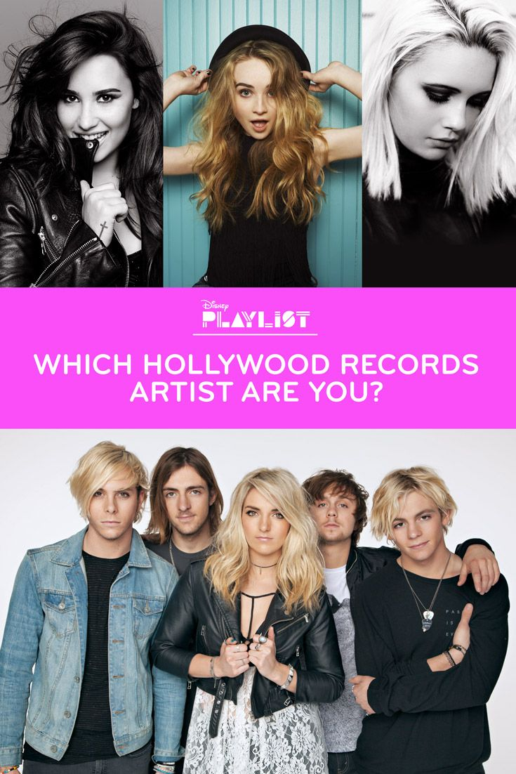 Hollywood Records: Which Hollywood Records Artist Are You?