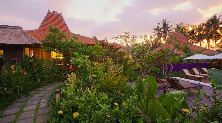 garden path - UmaJati - hotel in Bali, Indonesia