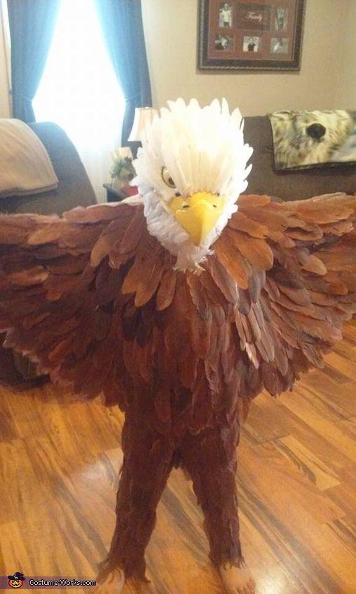 DIY Bald Eagle Costume - 2016 Halloween Costume Contest