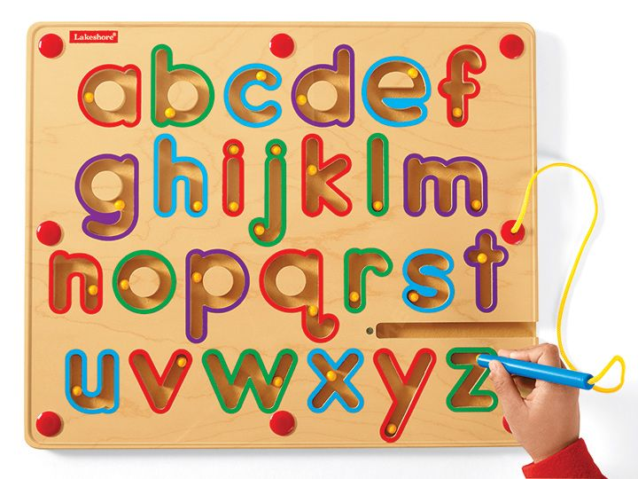 Diy Magnetic Tracing Alphabet Plexiglass Picture Frame Over