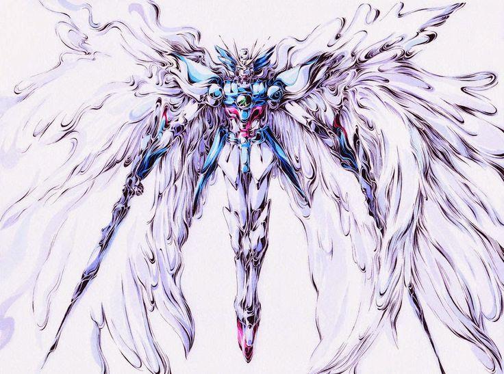 Gundam Wing Zero Drawing
