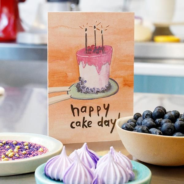 THE PB&CO CAKE DAY CARD GOT BAKED!