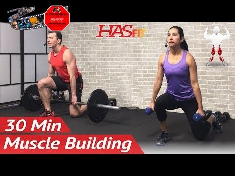 30 Minute Bodybuilding Leg Workout to Build Muscle - Bodybuilding Workout at Home - Legs Exercises - Unlock rewards and help keep HASfit free by donating now – https://www.patreon.com/hasfit Powerblock Adjustable Dumbbells – http://amzn.to/2jzTTDS Visit http://hasfit.com/workouts/bodybuilding/legs/leg-workout-to-build-muscle/ for the workout's instructions Download the HASfit... - http://wp.me/p7cSBH-1jH