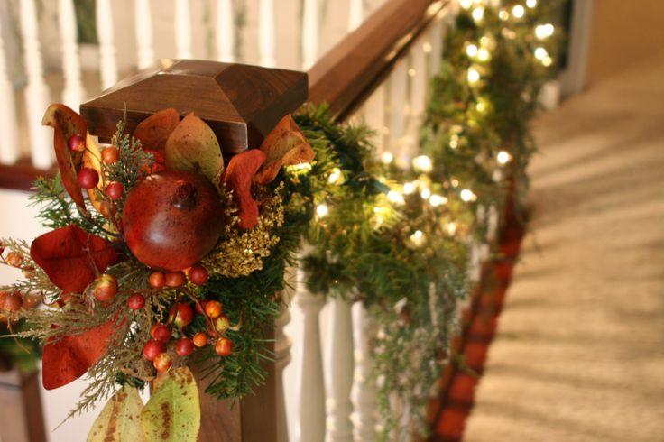 escaleras navideñas13