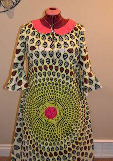 SewFit: Ankara - Maxi Dress