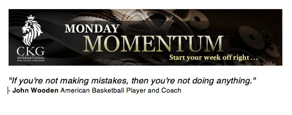 John Wooden. Monday Momentum March 25