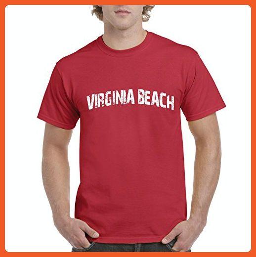 Ugo Virginia Beach Miami Florida Map Flag Home of University of Florida UF Men's T-Shirt Tee - Cities countries flags shirts (*Partner-Link)