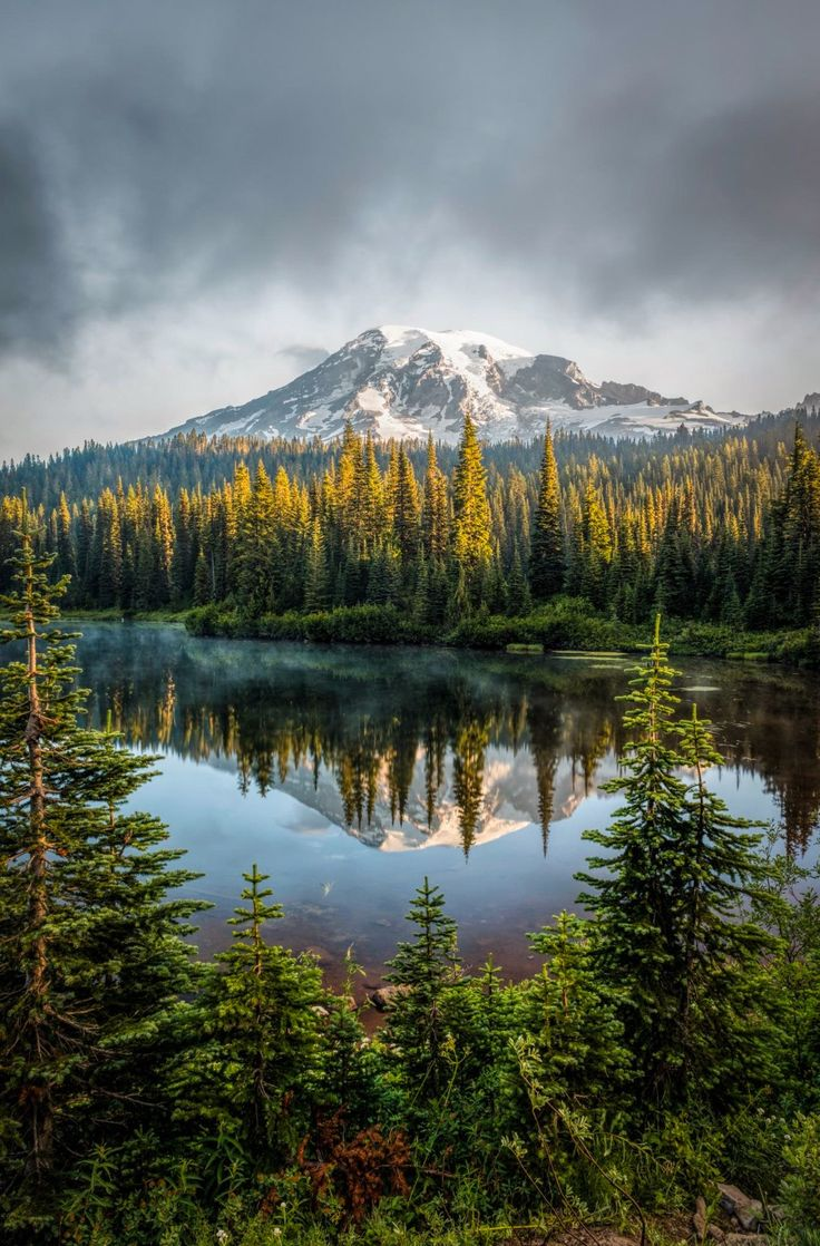 Mt Rainier (Washington) by Darren Neupert on 500px