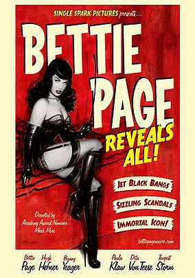Bettie Page Reveals All is on NETFLIX!! Soo good!!!! Actually narrated by Bettie!!!