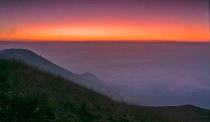 Guntur Mountain, Garut, Indonesia.