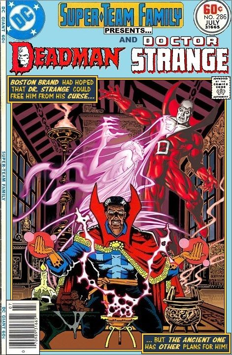 Super-Team Family: The Lost Issues!: Deadman and Doctor Strange