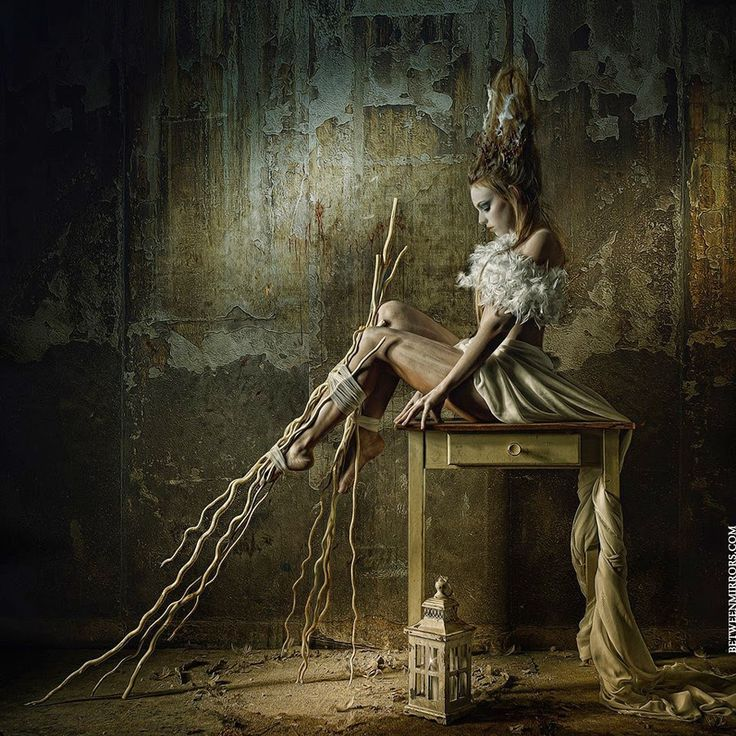BetweenMirrors.com   Alt Art Gallery: The Dark Fashion Photography of Stefan Gesell