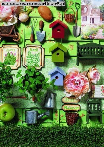 Green Garden kompozycja i fotografia Andrea Tilk