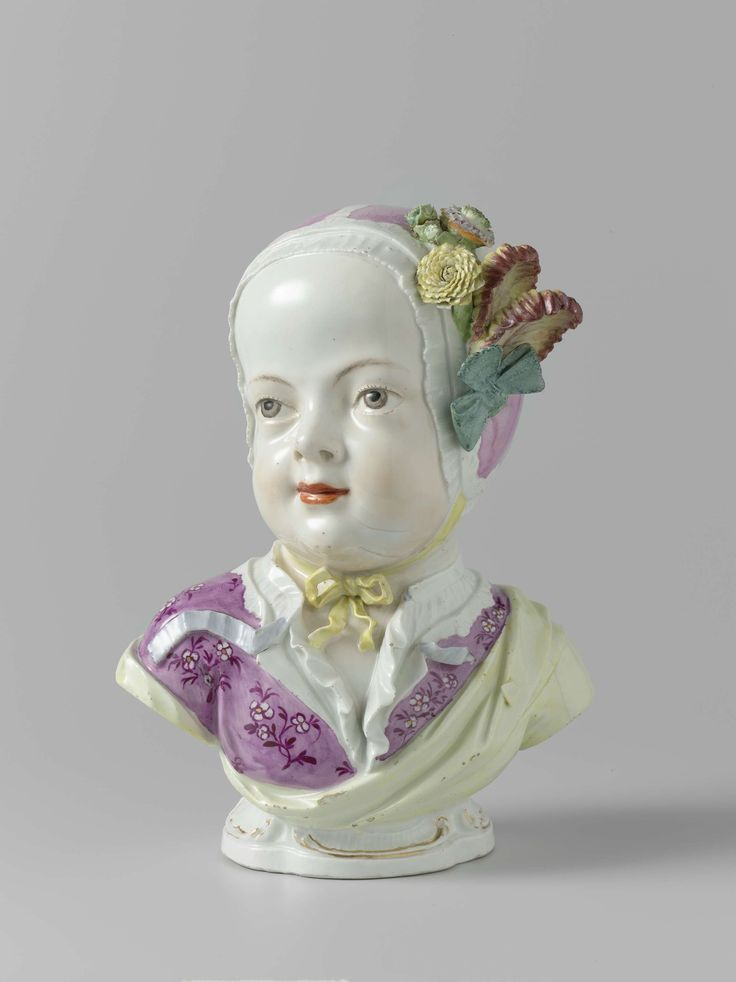 Two Busts of Children, Meissener Porzellan Manufaktur, c. 1750 - c. 1760