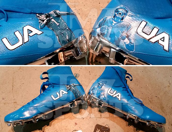 http://heysport.biz/ Cam Newtoncould deliver an epic SCREW YOU to all his anti-dabbing critics -- 'cause he's got a pair of custom cleats coming his way for his…