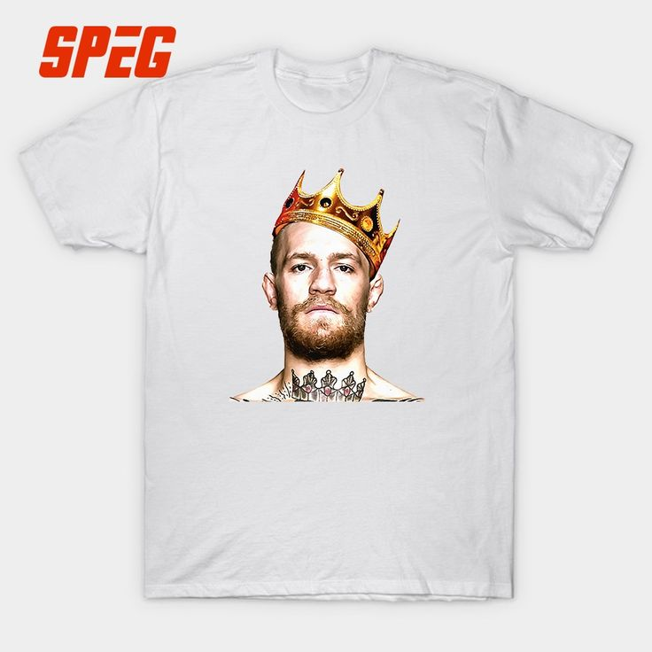 Humorous T Shirts vs gregor Featherweight Champion Conor Mcgregor MMA Teenage Cotton Tee Shirt Costume Man Oversized T-Shirt #Affiliate