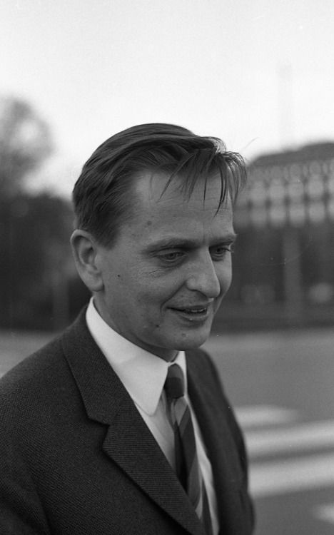 Olof Palme - Politician, statesman and former Prime Minister of Sweden, assassinated in 1986