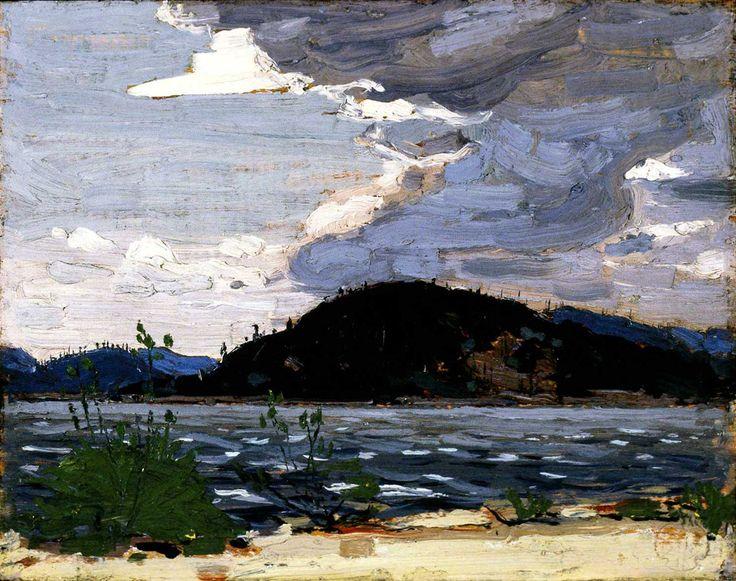 thomson_spring-canoe-lake_1916