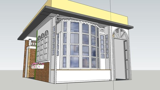 Large preview of 3D Model of Retail store,Boutique Shop,Fashion Store, Window display by babypetromax