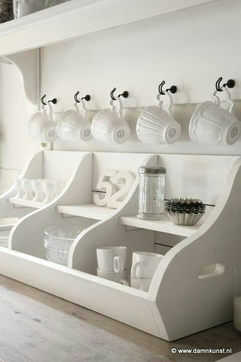 Gorgeous little coffee station....