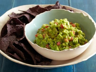 Garlicky Holy Guacamole!: Food Recipes, Food Network, Guacamole Recipes, Tortillas Chips, Garlicky Holy, May 5, Corn Tortillas, Foodnetwork, Holy Guacamole