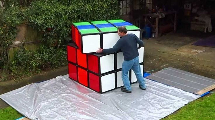 The World's Largest Rubik's Cube Is 10,000X More ...