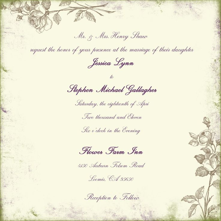 Wedding Invitation Wording | Wedding Invitations Wording Samples.  Gala Invitation Wording