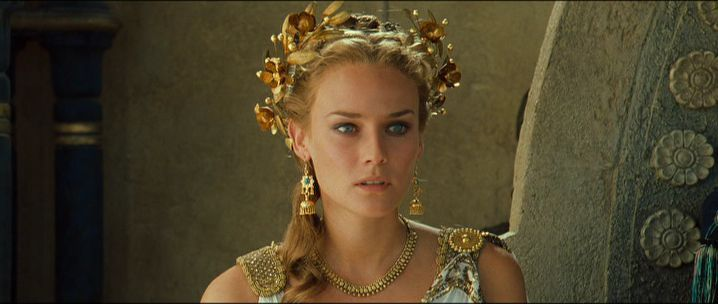 Diane Kruger   -is Helen of Troy-