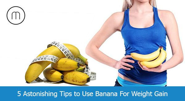 5 benifits of Banana For Weight Gain - http://goo.gl/pMpO8l