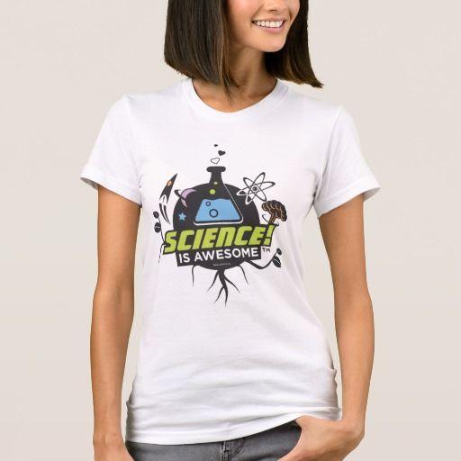 Science Is Awesome. Producto disponible en tienda Zazzle. Vestuario, moda. Product available in Zazzle store. Fashion wardrobe. Regalos, Gifts. #camiseta #tshirt #programmer #nerd #sheldon