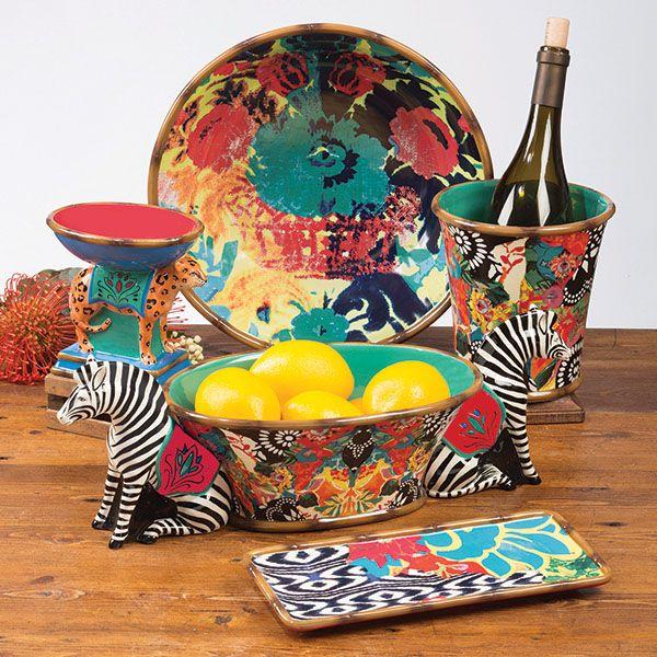 Magpie dinnerware collection ~ Poetic wanderlust by Tracy Porter