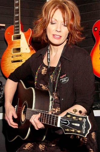 Nancy Wilson at NAMM, 2005