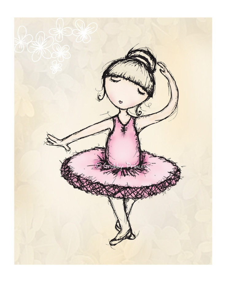 how to draw a dancer for kids